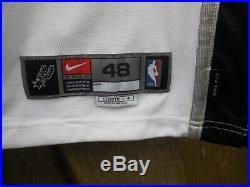 MANU GINOBILI 02-03 San Antonio Spurs Nike game issued jersey authentic pro cut