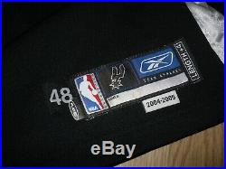 MANU GINOBILI 2005 San Antonio Spurs reebok game issued jersey authentic pro cut