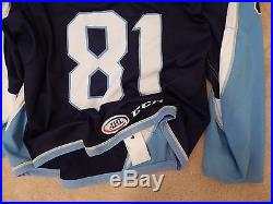 MILWAUKEE ADMIRALS (AHL) Game Issued RISSLING CCM jersey size 56