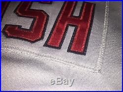 Majestic Authentic Game Issued Kevin Cash Boston Red Sox 2008 Japan Jersey Sz 48