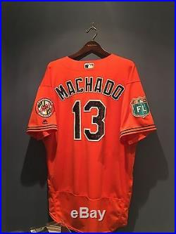 Manny Machado Game Used Jersey, Orioles, Spring Training 2016! COA Issued MLB
