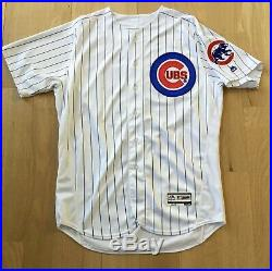 Manny Ramirez 2016 Game Issued Chicago Cubs Jersey Used Worn Rare Coach W. S. #99