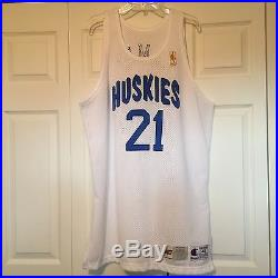 Marcus Camby Game Worn 96/97 Throwback Rookie Jersey Pro Cut Game Issued