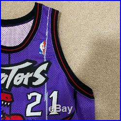 Marcus Camby Toronto Raptors Champion Jersey Game Issued Size 48 Length +3