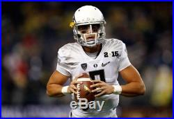 Marcus Mariota Nation Championship Team Issue Oregon Ducks Jersey Not Game Used