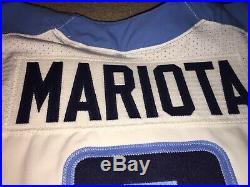 Marcus Mariota Tennessee Titans 2016 Game Worn Used Issued Jersey Oregon Ducks