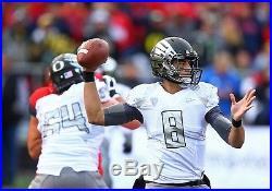 Marcus Mariota auto Game Jersey issued Titans Oregon Ducks JSA authentic Rare