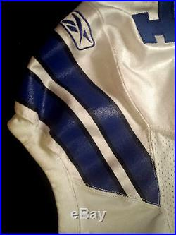 Marion Barber Authentic NFL Game WORN Issued Jersey Size 48 Dallas Cowboys
