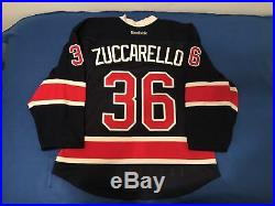 Mats Zuccarello Game Issued New York Rangers Jersey