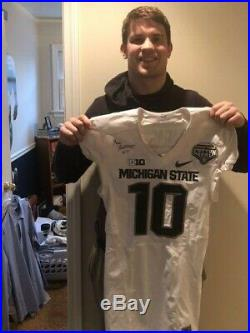 Matt Morrissey Game Issued Michigan State Spartans 2015 Cotton Bowl Nike Jersey