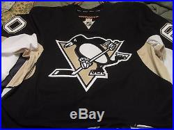 Matt Murray Pittsburgh Penguins 2013-14 Game Issued Tagged Camp Jersey COA