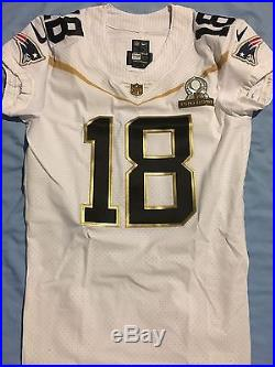 Matthew Slater NFL Pro Bowl New England Patriots Game Issued Jersey