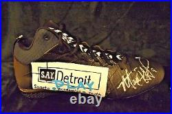 Matthew Stafford Game Issued Cleats Autograph PSA / DNA NFL My Cause My Cleats