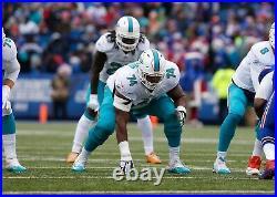Miami Dolphin Jermon Bushrod Game Issued / Worn 2017 Jersey Saints XLIV Sz48