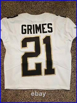 Miami Dolphins NFL Brent Grimes Team Issued Pro Bowl game issued worn Jersey
