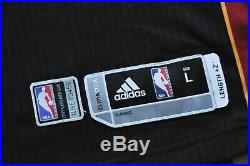 Miami Heat Adidas Rev30 Mesh Blank Game Issue Dwyane Wade Sewn Men Black L+2
