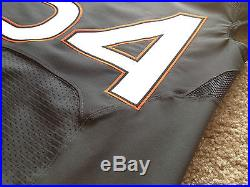 Miami Hurricanes Nike Elite Authentic Game Worn Used Issued Smoke Jersey 42