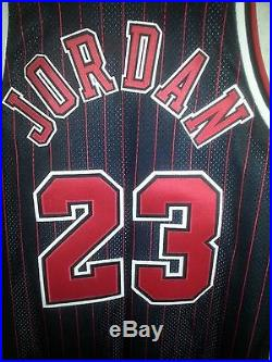Michael Jordan 100% Authentic 95/96 Champion Game Issued Jersey Body + 3 Rare