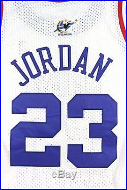 Michael Jordan 2003 Game Issued Pro-cut Last All-star Game Jersey Bulls Wizards