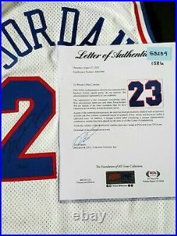 Michael Jordan All Star Game Issued Jersey Shorts Chicago bulls not worn signed