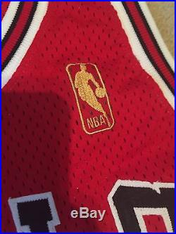 5ebfb0ed466 Michael Jordan Signed Jersey Game Issued Pro Cut 1996-97 Champion UDA Gold  Logo