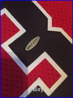 Michael Jordan Signed Jersey Game Issued Pro Cut 1996-97 Champion UDA Gold Logo