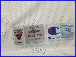Michael Jordan UDA Upper Deck Signed Autograph Champion Game Issued Jersey 95-96