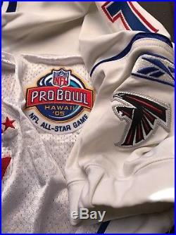 Michael Vick Atlanta Falcons Pro Bowl Pro Cut Game Issued Jersey