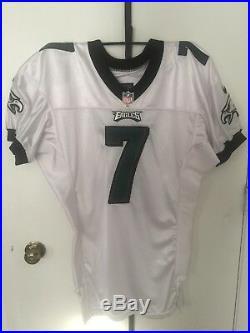 Michael Vick Philadelphia Eagles 2013 NIKE Game Team Issued Jersey