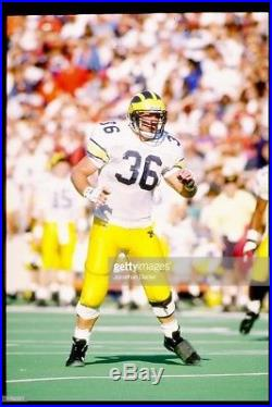 Michigan Wolverines 1992 Rose Bowl Game Issued Jersey Steve Morrison Sz48