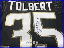 Mike Tolbert Carolina Panthers Pro Bowl Game Issued Je