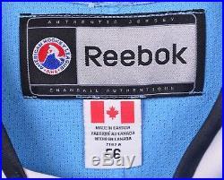 Milwaukee Admirals Men's Sz 56 Van Guilder Game Worn/Issued Reebok AHL Jersey