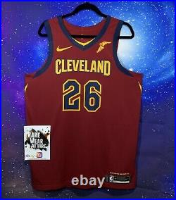 NBA Nike Jersey Kyle Korver Game Issued Sz 50+4 Cleveland cavaliers