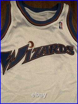 NBA Washington Wizards Game team issued Reebok Jersey 2005/06 Size 50+6 Arenas