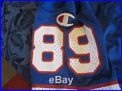 NFL Buffalo Bills Steve Tasker Team Issued Game Jersey 1996 Size 44