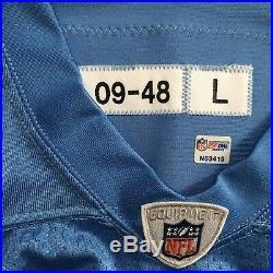NFL PSA Authentic Game Issued Jersey Kyle Vanden Bosch Titans Oilers Autograph