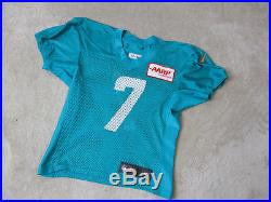 NIKE Miami Dolphins Game Worn Practice Football Jersey NFL Green Team Issued