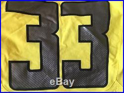NIKE OREGON DUCKS FOOTBALL GAME #33 Forde MENS SZ 42 TEAM ISSUE USED JERSEY L S