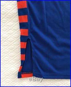 NY Knicks HWC Blank Game Issued Pro Cut Jersey Hardwood Classics 42+2 Marbury