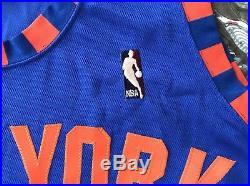 NY Knicks HWC Blank Team Issued Pro Cut Game Jersey Hardwood Classics Marbury