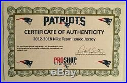 New England Patriots #59 REILLY Team Issued (Game Worn/Used) NIKE Jersey 2016