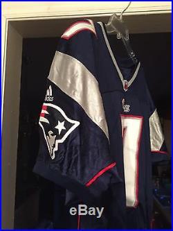 New England Patriots David Leaverton Game Issued/worn No. 7 Adidas Jersey Punter