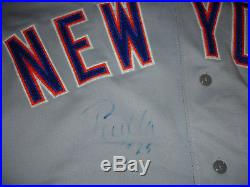 New York Mets 1992 Bobby Bonilla Game Worn Used Team Issued Autograph Jersey