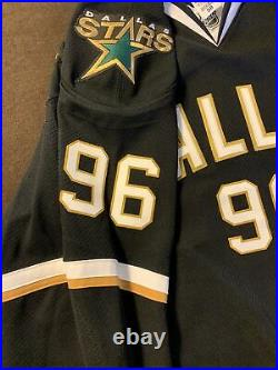 Nhl Dallas Stars Authentic Game Issued Jersey