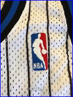 Nick Anderson Orlando Magic Game Issued Jersey