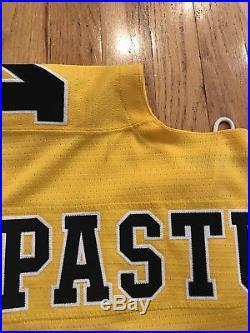 Nick Pastujov University Of Michigan Game Issue Hockey Jersey