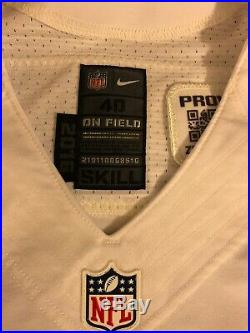 best sneakers b13a1 f8f57 Nike 2016 Dallas Cowboys Game Issued Game Worn Jersey 5 Dan ...