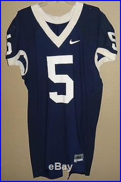 Nike Authentic Penn State Nittany Lions Football Game Worn Team Issued Jersey