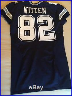 Nike Dallas Cowboys Game Issued Jersey 82 Jason Witten