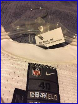 Nike Dallas Cowboys Game Worn/Issued Jersey 88 Dez Bryant